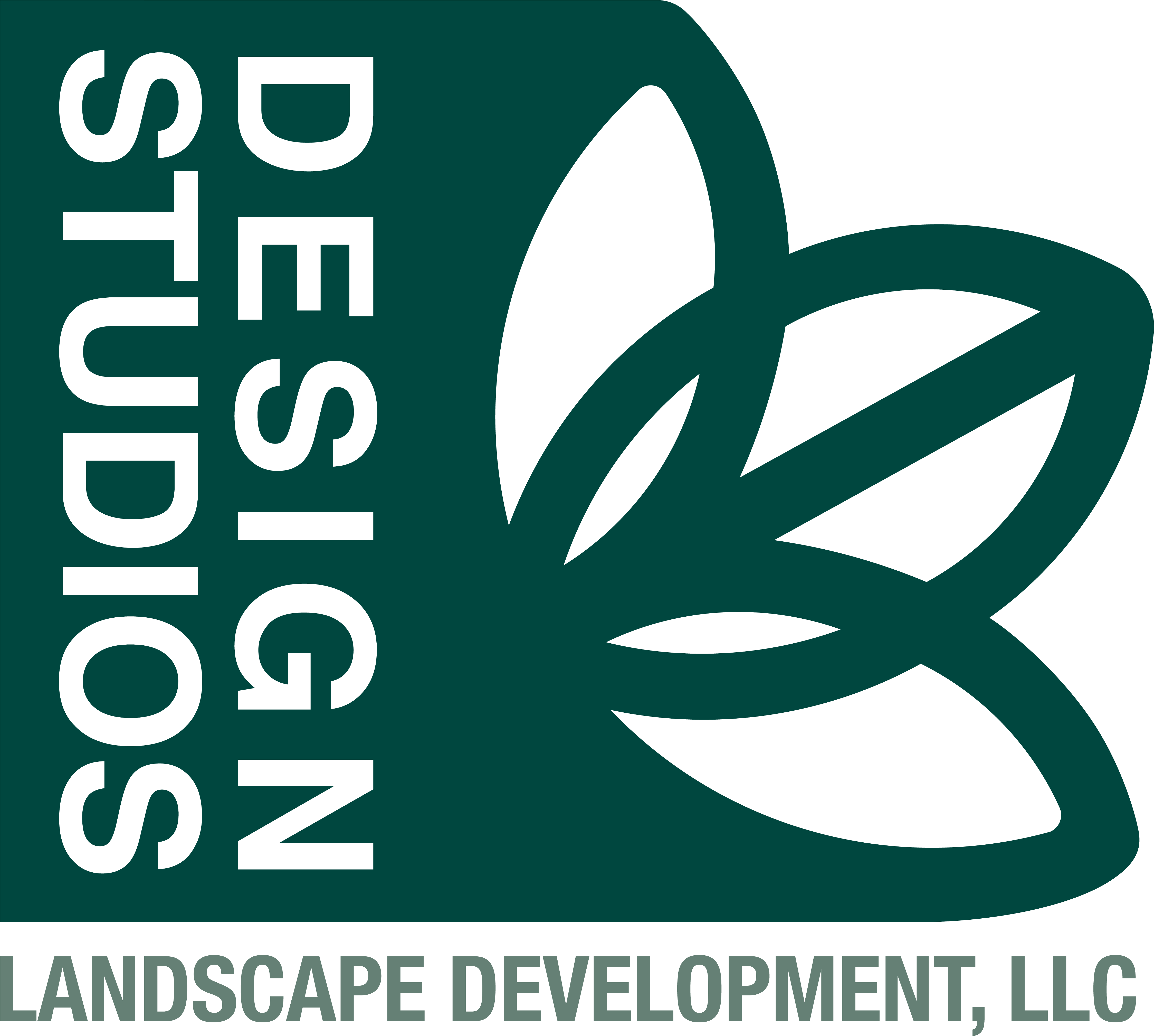 DesignLogoDkGreenLtGreen