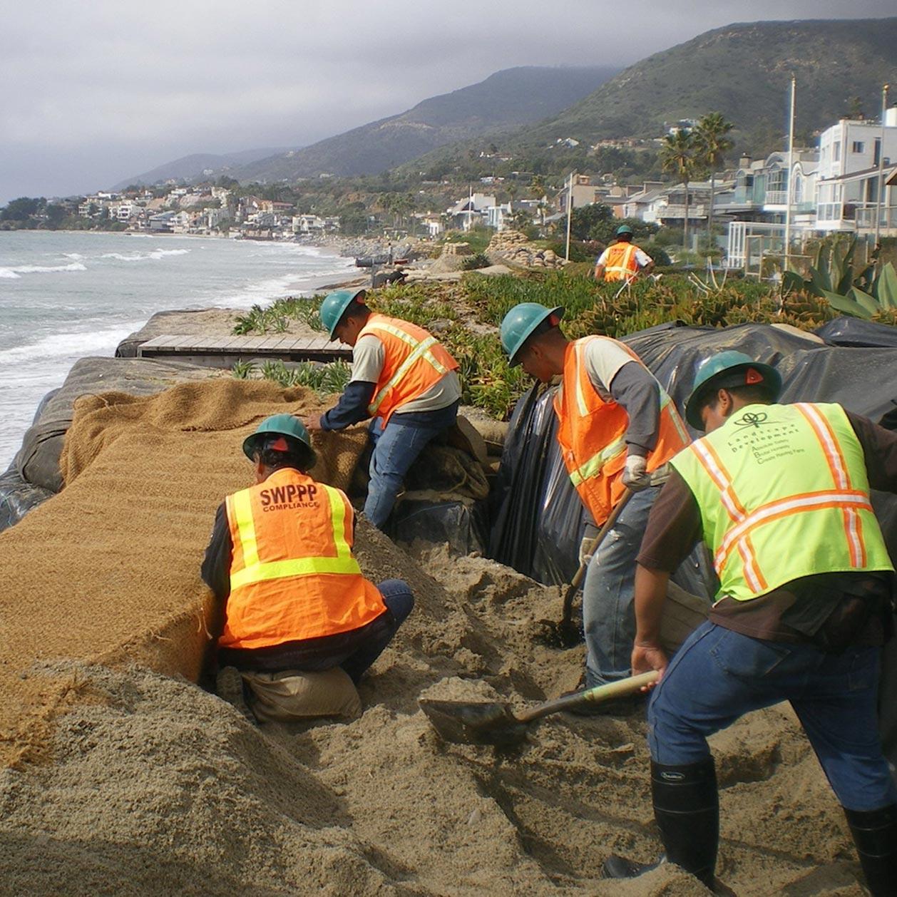 Mitigating Shore Erosion