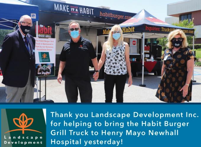 Habit Burger's Testimonial For Landscape Development Inc.