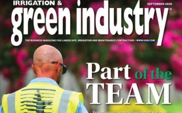 Irrigation & Green Industry Poster