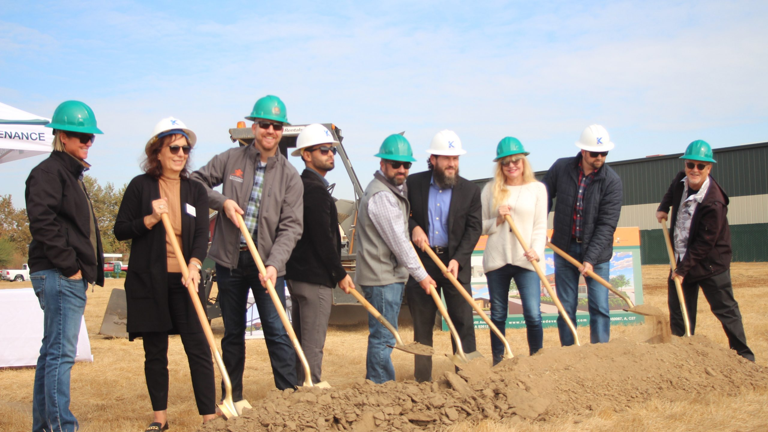 Groundbreaking For A New Office