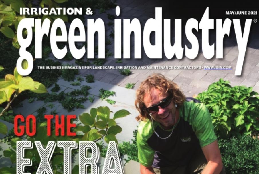 Landscape Development- Green Industry magazine cover