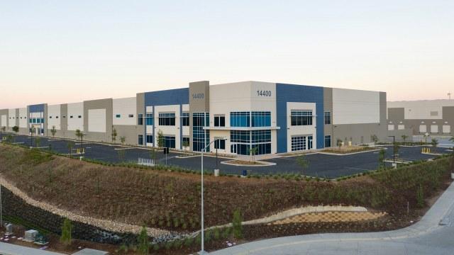 Landscape Development- Industrial landscape side view
